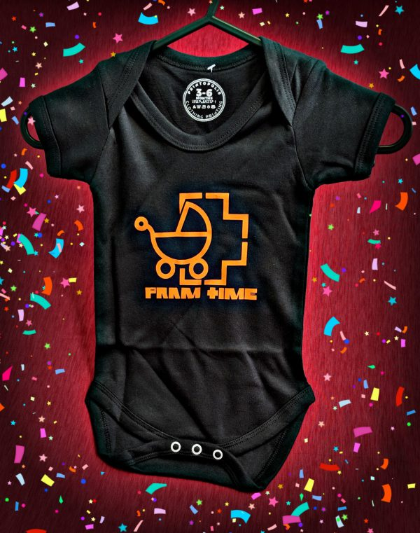 Pram Time Rammstein Baby Grow