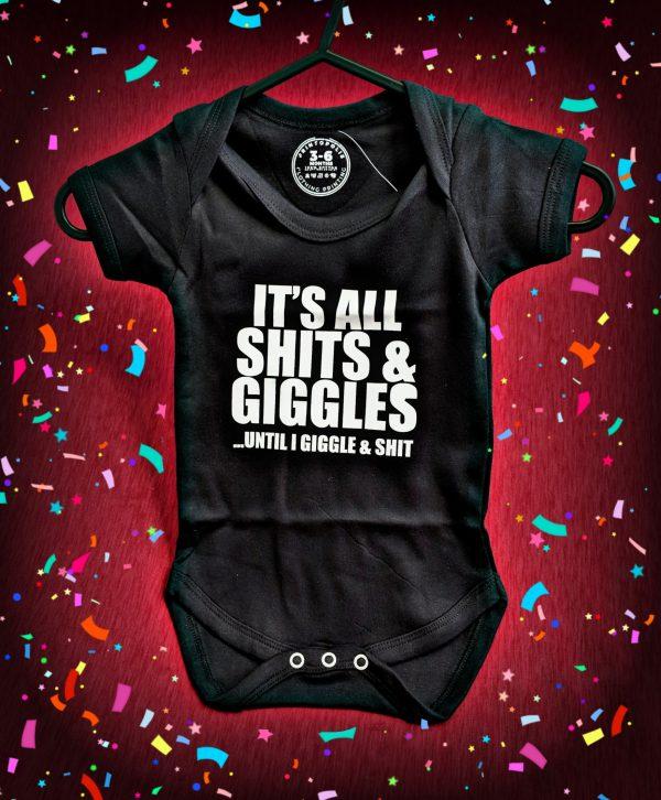 Shits and Giggles Baby Grow