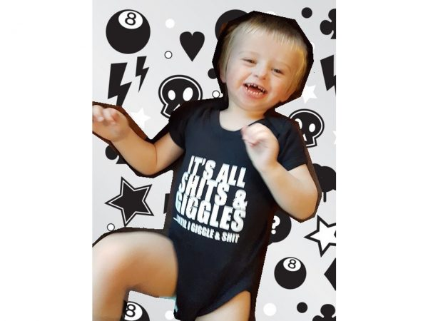 Shits and Giggles Baby Grow Onesie