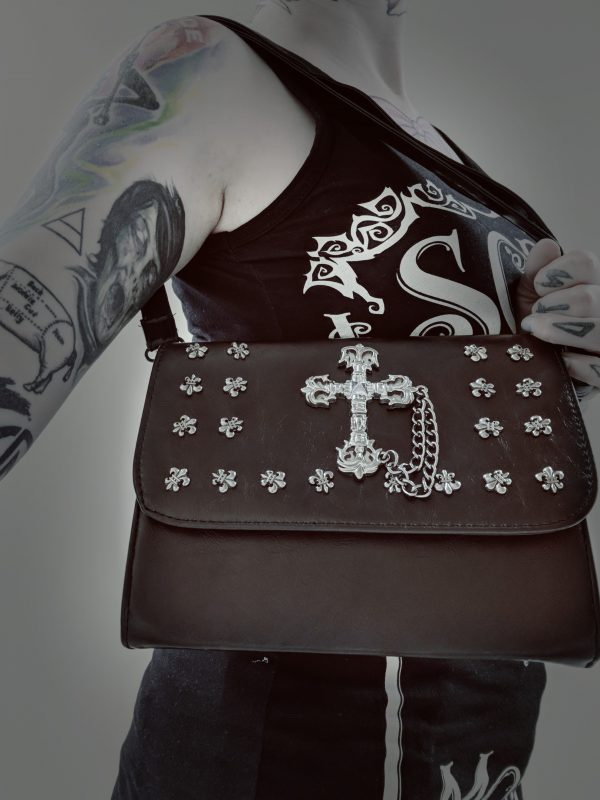 Gothic Cross Handbag