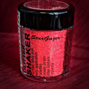 Pastel Coral Glitter