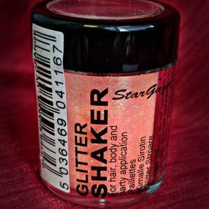 UV Orange Glitter