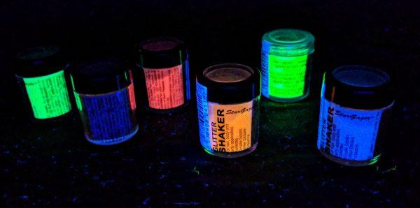 UV Yellow Glitter
