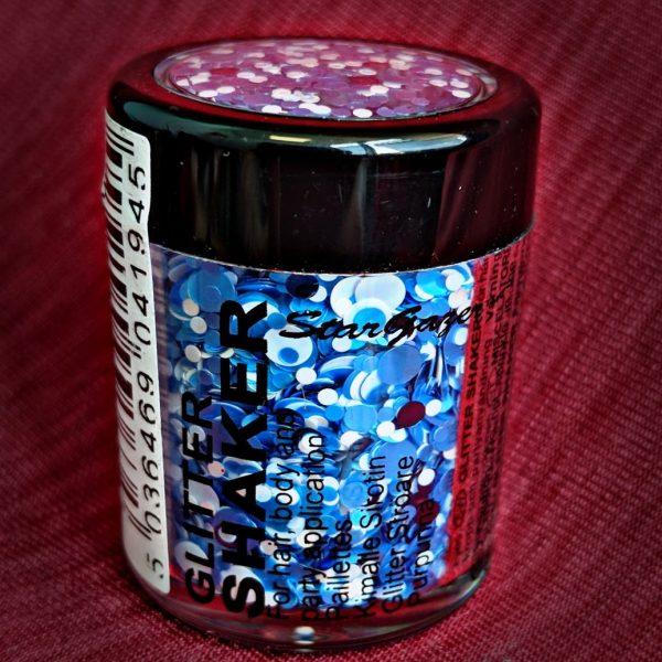 Confetti Blue Chunky Glitter