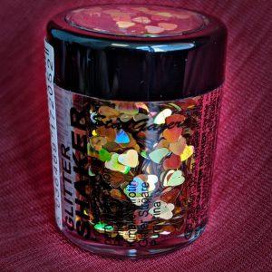 Heart Chunky Glitter
