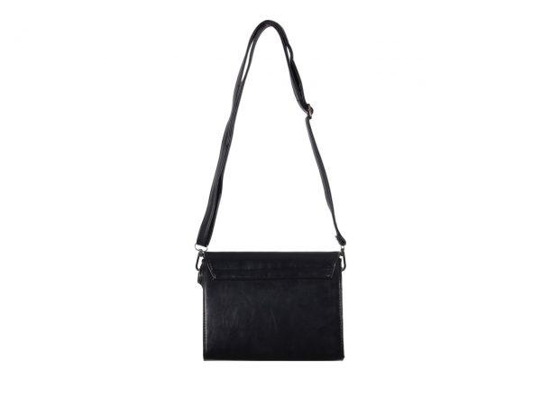 Black Gothic Cross Handbag Banned Apparel