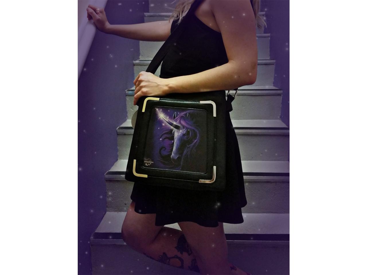 Black Magic Unicorn 3D Lenticular Handbag World Of 3D