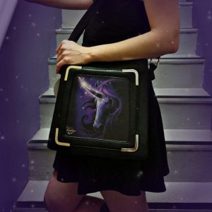 Black Magic Unicorn 3D Handbag