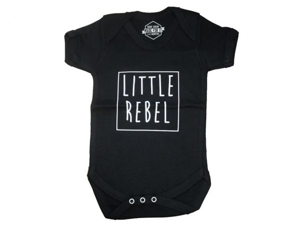 Little Rebel Baby Grow Onesie