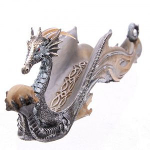 Shimmering Dragon Incense Burner