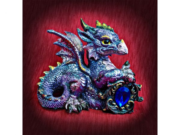 Tyrian Dragon Figure