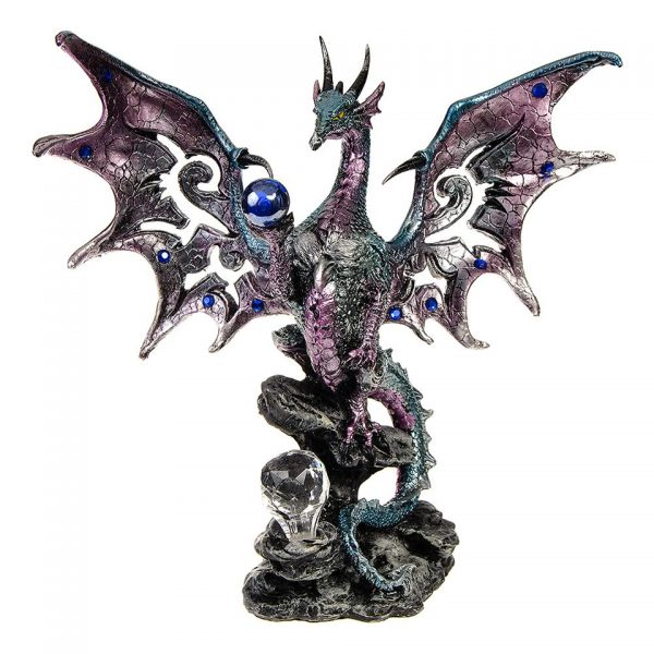 Blue Dragon Protector Figure