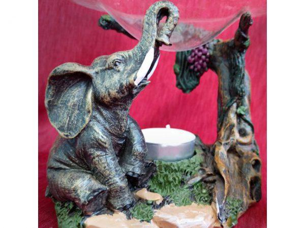Realistic Elephant Oil Burner