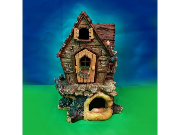 Tree Top Cottage Fairy Garden House