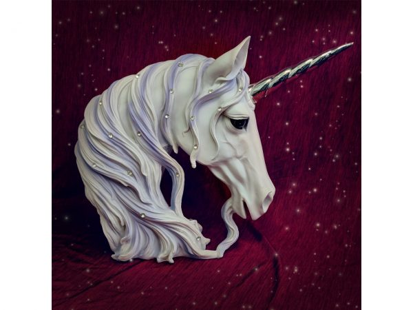 Jewelled Magnificence Unicorn Bust Figure