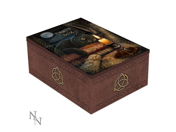 Witching Hour Tarot Card Box Trinket