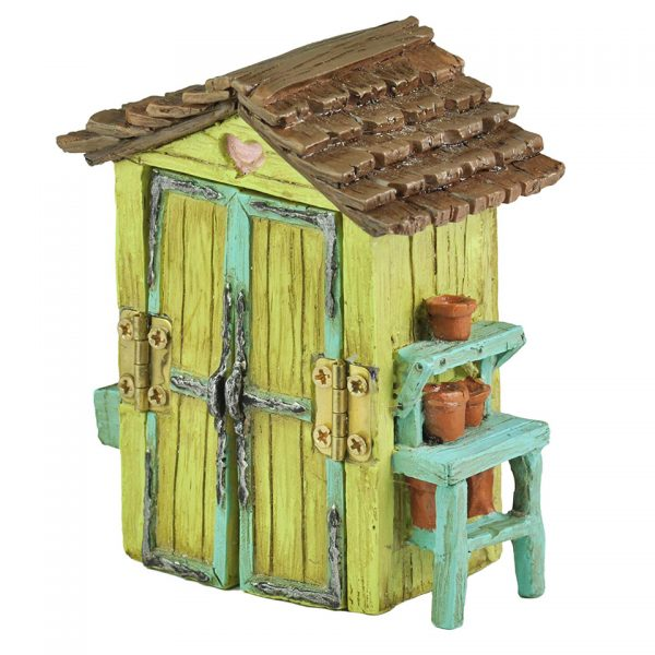 Fairy Garden Shed Miniature