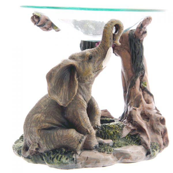 Realistic Elephant Oil Burner
