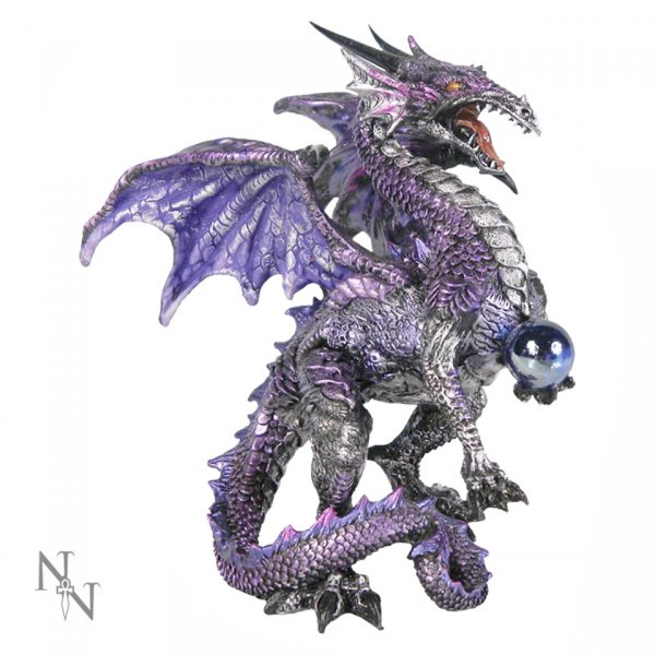 Purple Dragon Protector Figure