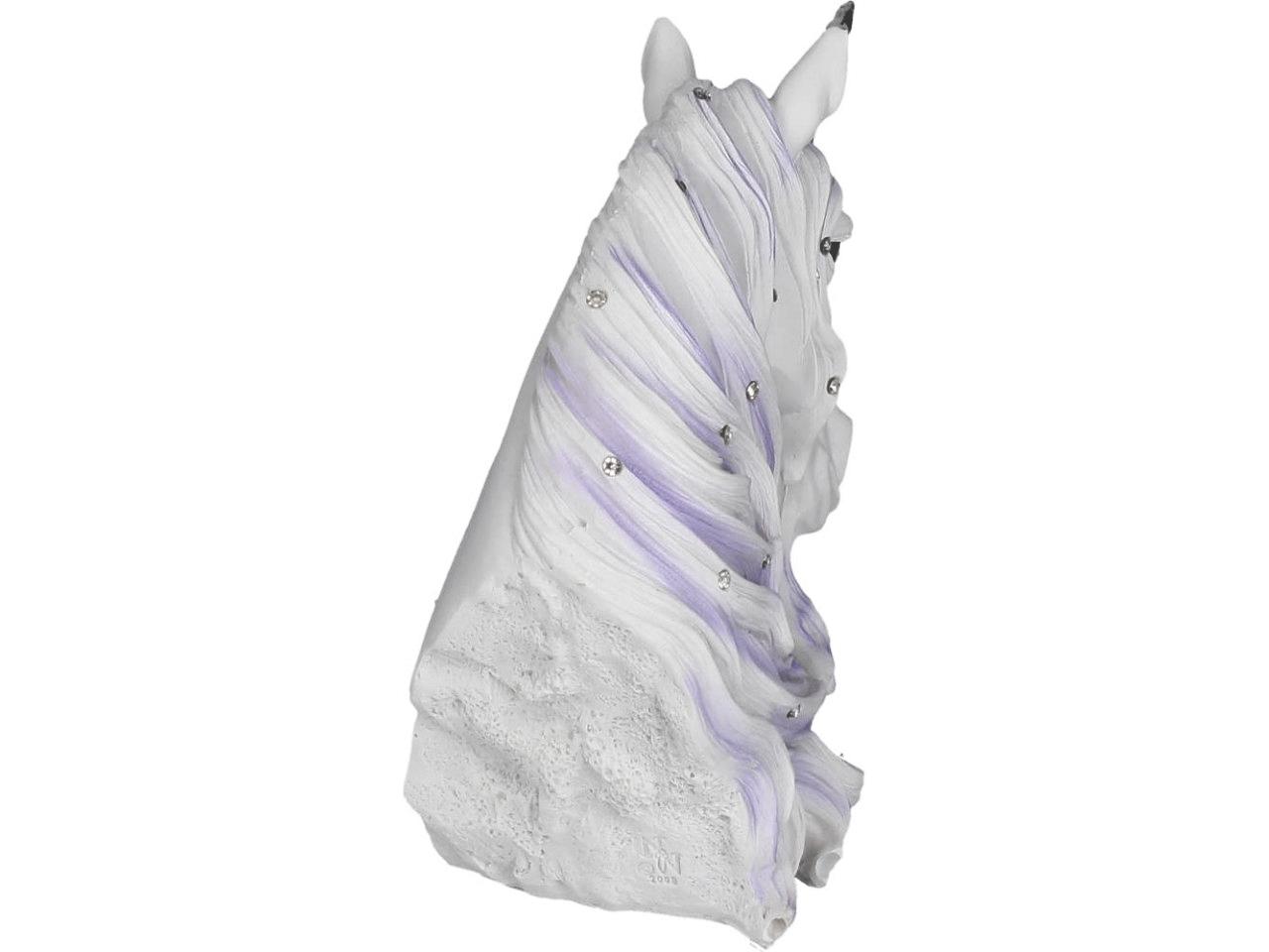 Jewelled Magnificence Unicorn Bust Figure