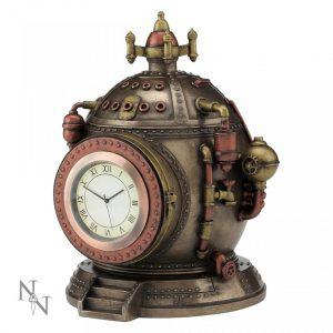 Mechanics of Time Steampunk Clock