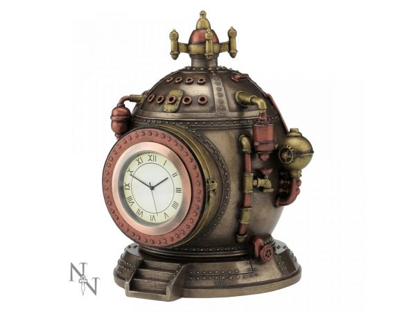 Mechanics of Time Steampunk Clock