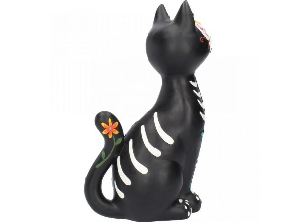 Sugar Puss Day of the Dead Cat Figure
