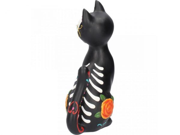 Sugar Kitty Day of the Dead Cat Figure