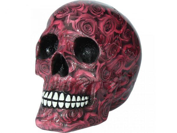 Romance Rose Skull Figure