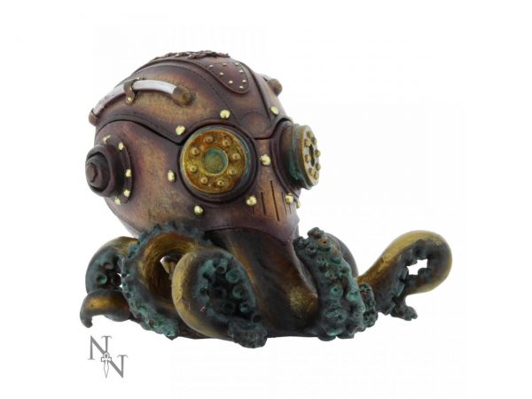 Steampunk OctoBox Trinket Box