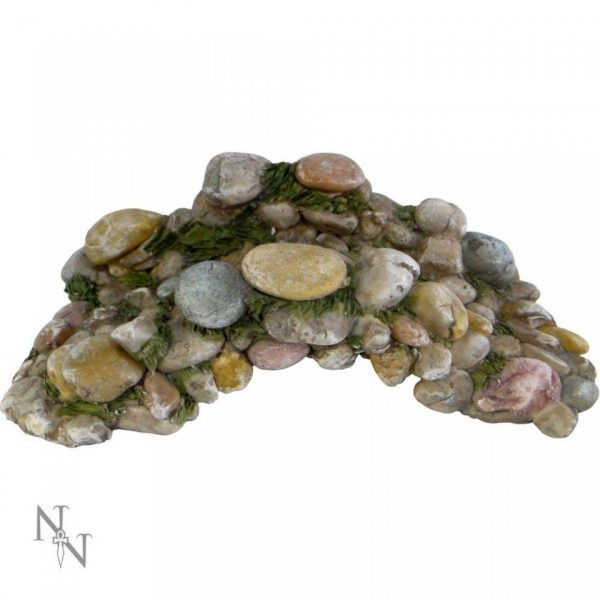 Pebble Fairy Garden Bridge Miniature