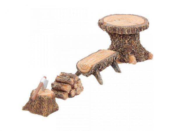 Fairy Woodland Lodging Miniature Garden