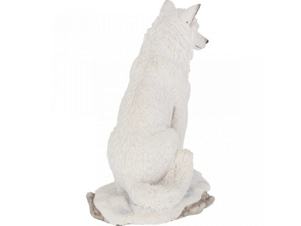 Ghost Wolf Figure