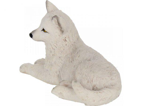 Winter Wolf Pup Figure