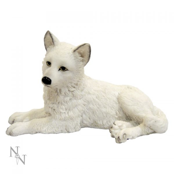 Winter Wolf Pup Figure