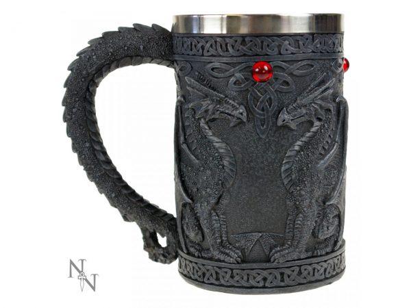 Black Dragon Wing Tankard