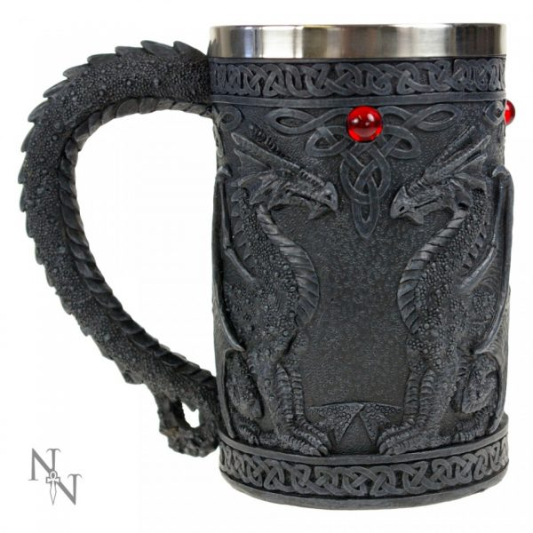 Black Dragon Wing Tankard
