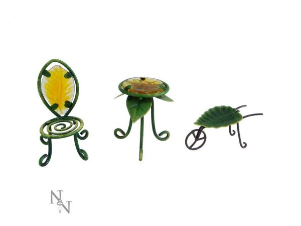 Fairy Garden Patio Set Miniature
