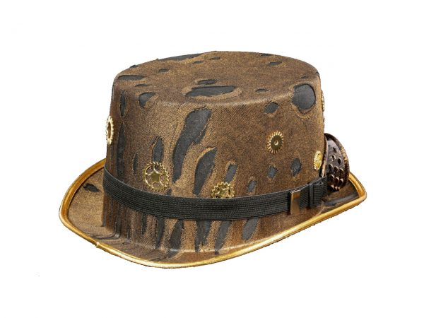 Whitby Wanderer's Top Hat Steampunk