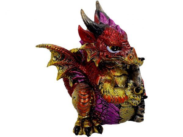 Ruby Dragon Figure