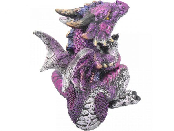 Amethyst Dragon Figure