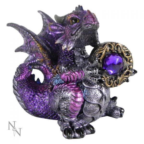 Amethyst Dragon Figure