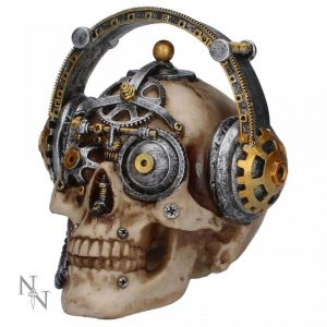 Techno Talk Skull Steampunk