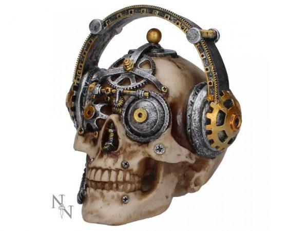Techno Talk Skull Steampunk