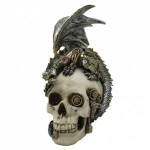 Steel Wing Dragon Skull Steampunk
