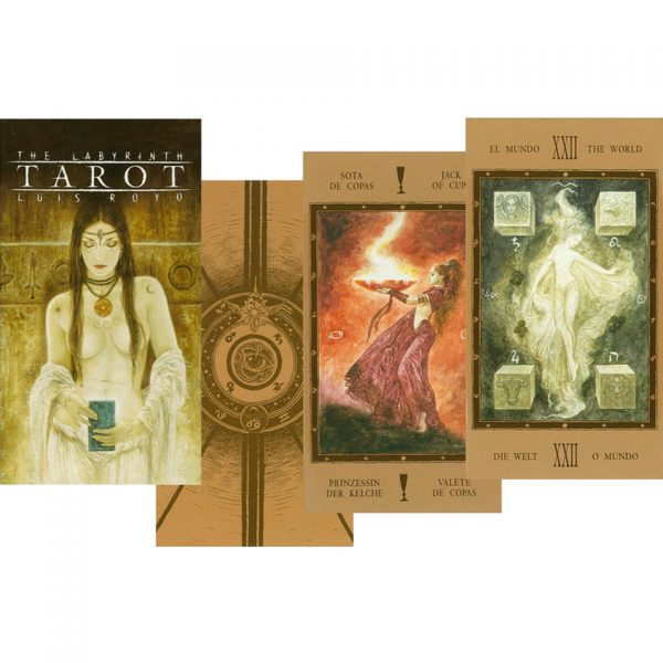 Nemesis Now Luis Royo Labyrinth Gothic Tarot Cards