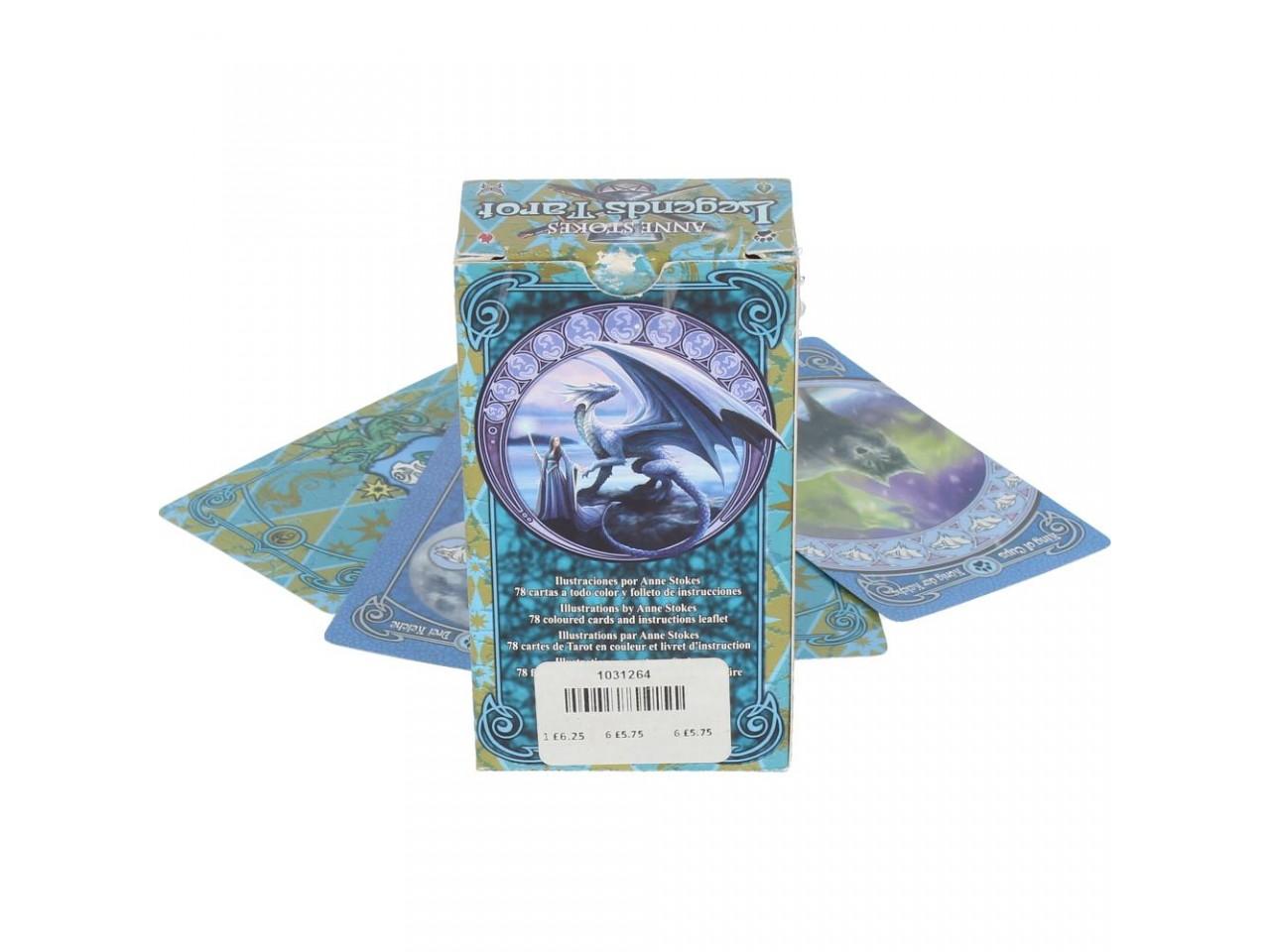 Nemesis Now Anne Stokes Legends Fantasy Tarot Cards