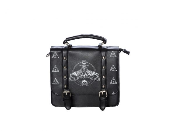 Death Moth Small Satchel Bag Banned Apparel