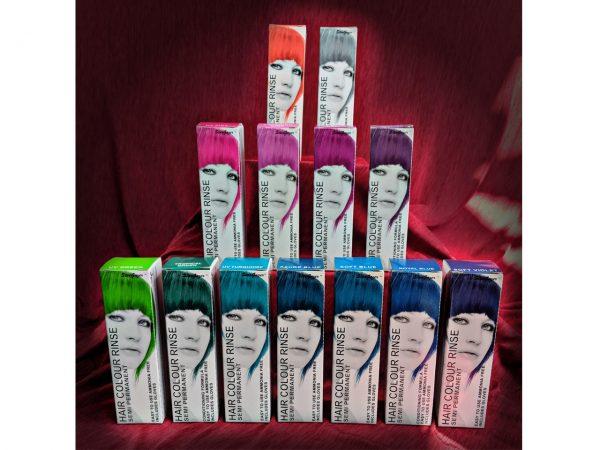 Stargazer Semi Permanent Hair Dye Colour Range