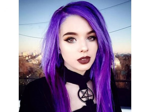 Crazy Colour Hot Purple Hair Dye